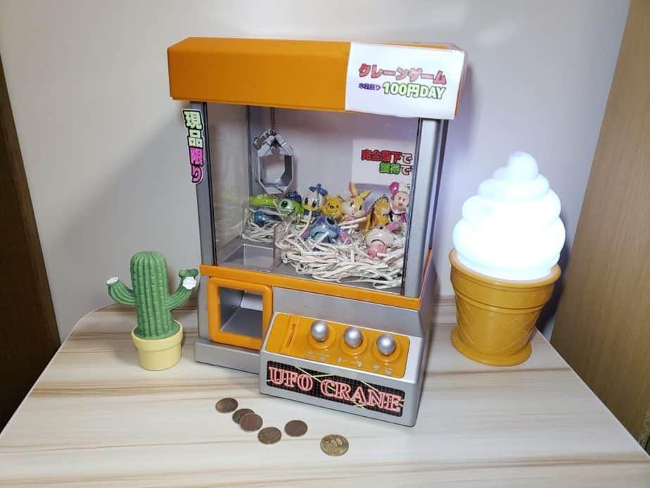お家で遊べるクレーンゲーム