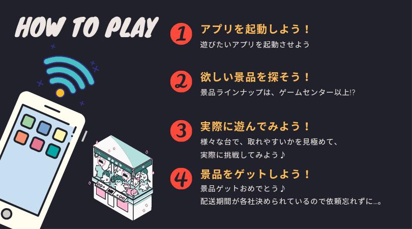 オンラインクレーンゲームの遊び方